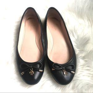 Kate Spade • Willa Ballet Flat • Black • Size 7.5